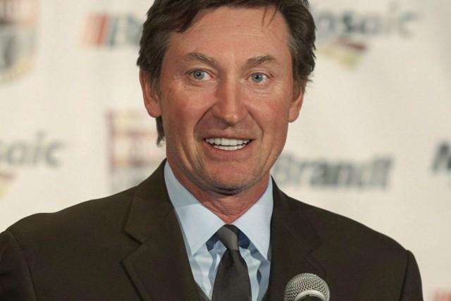 Gretzky endosse la candidature de Patrick Brown dans... (La Presse Canadienne)