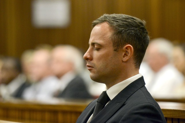 Oscar Pistorius, athlète double amputé qui s'était illustré... (PHOTO HERMAN VERWEY, ARCHIVES AFP)