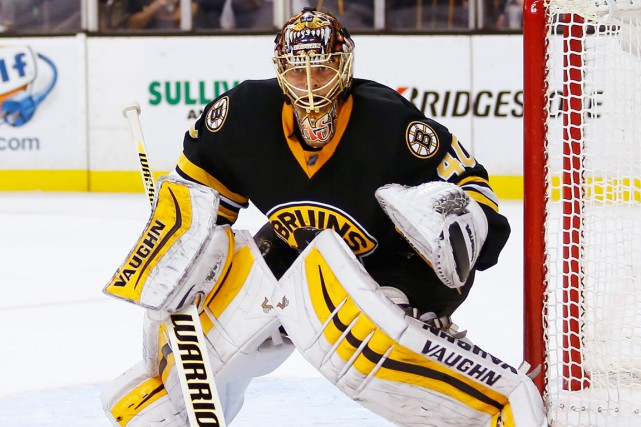 Le gardien des Bruins de Boston, Tuukka Rask.... (Photo Winslow Townson, AP)