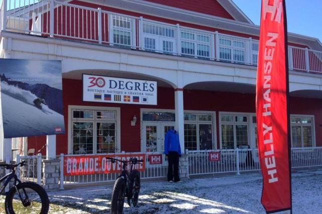 Une autre boutique ferme ses portes pour des problèmes financiers. Michel... (Photo tirée de Facebook)