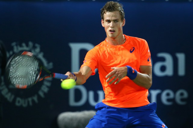 Vasek Pospisil... (Photo Marwan Naamani, AFP)