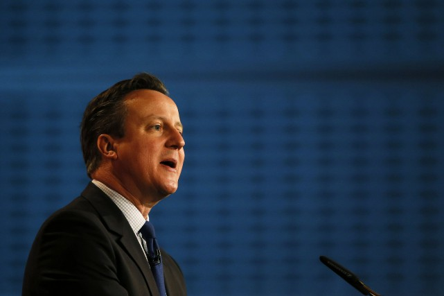 Le premier ministre britannique, David Cameron... (Photo Stefan Wermuth, Reuters)