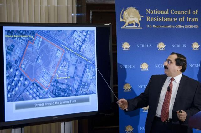 D'après les opposants iraniens, le site de «Lavizan-3»,... (PHOTO BRENDAN SMIALOWSKI, AFP)