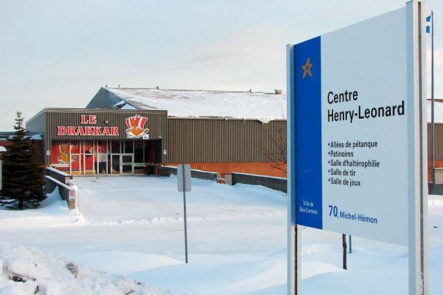 Le Centre Henry-Leonard, à Baie-Comeau... (Collaboration spéciale Steeve Paradis)