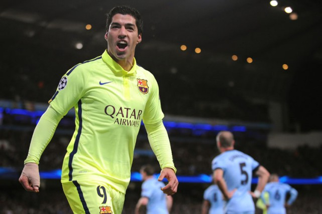Luis Suarez... (Photo: AP)