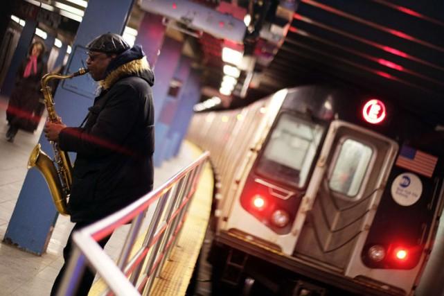 Le métro new-yorkais n'est pas seulement infesté de rats: ses usagers doivent... (Photo: AFP)