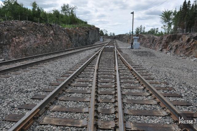 Le problème de l'enclavement de la desserte ferroviaire... (Photo d'archives)