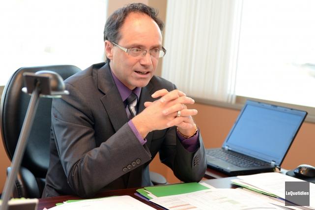 Éric Dufour, vice-président Saguenay-Lac-Saint-Jean-Chibougamau-Côte-Nord chez Raymond Chabot Grand... ((Archives Le Quotidien))