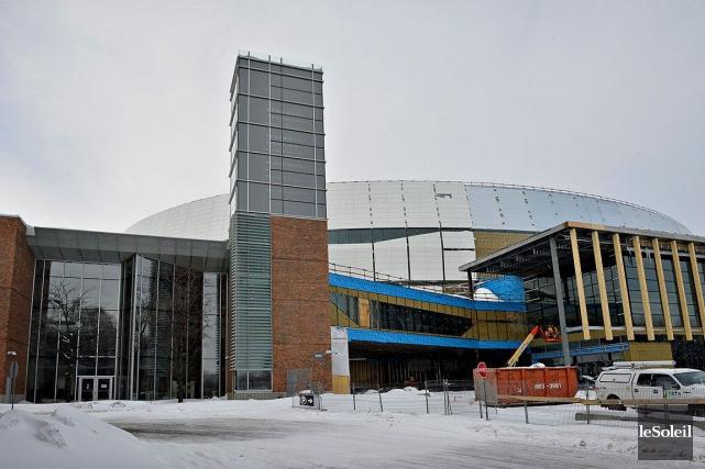 À septmois de l'ouverture de l'amphithéâtre, Loto-Québec n'a... (Le Soleil, Patrice Laroche)