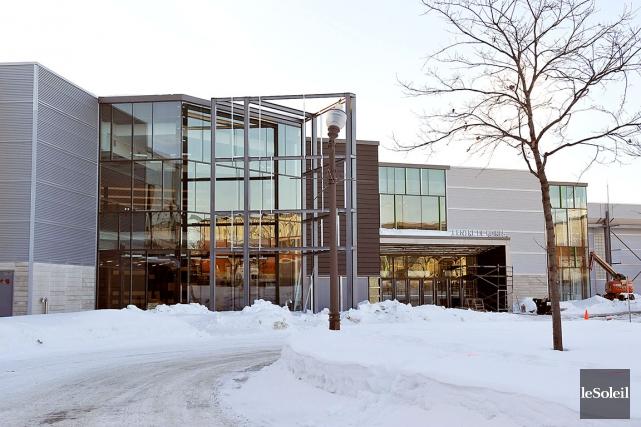 Depuis 2012, le Centre de foires (photo) a... (Photothèque Le Soleil)