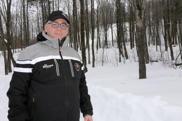 Le vice-président planification et développement de Ski Bromont... (Photo Alain Dion)