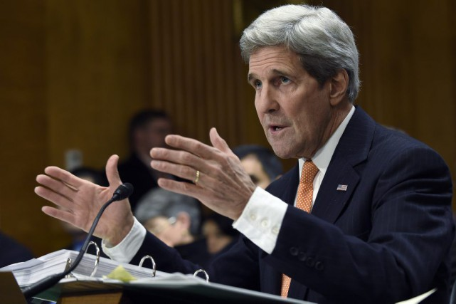 John Kerry... (PHOTO SUSAN WALSH, ASSOCIATED PRESS)