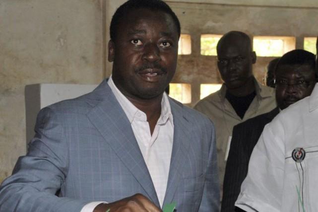 Faure Gnassingbé (photo) avait été porté au pouvoir... (PHOTO ISSOUF SANOGO, AGENCE FRANCE-PRESSE)