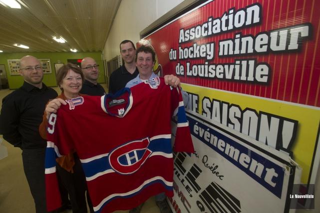 Louiseville accueillera les Anciens Canadiens le 21 novembre... (Photo: Stéphane Lessard Le Nouvelliste)