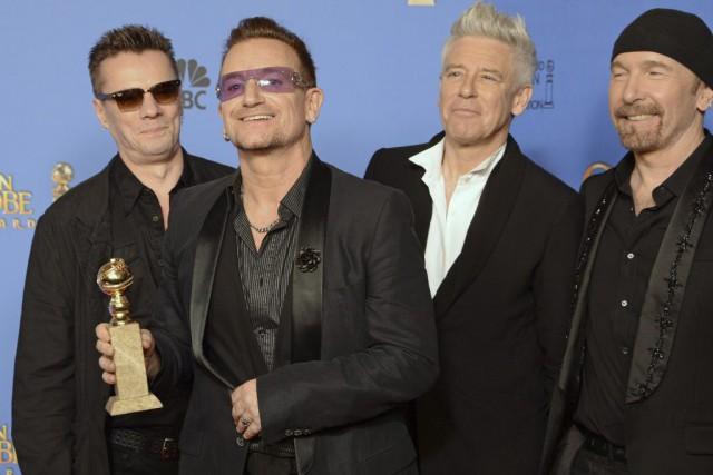 L'albumSongs of Innocence de U2 s'était retrouvé automatiquement... (PHOTO ARCHIVES AFP)