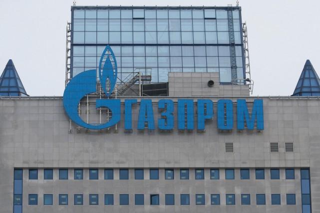 Le groupe russe Gazprom a annoncé jeudi dernier... (PHOTO REUTERS)