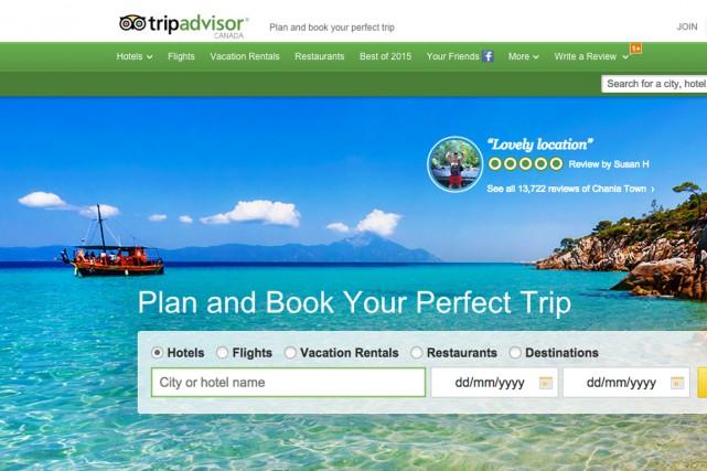 TripAdvisor se revendique comme «le plus grand site... (Saisie d'écran)