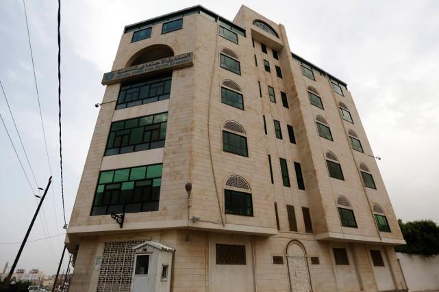 C'est dans cet édifice qu'Isabelle Prime, 30 ans,... (PHOTO REUTERS)