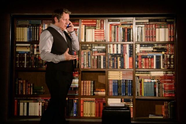 Robert Lepage replonge dans ses souvenirs d'enfance pour... (Photo fournie par le theatre du Grand T)