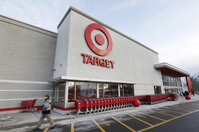 Target a affiché mercredi une perte pour son quatrième trimestre, ce qu'elle a... (PHOTO ARCHIVES AP)