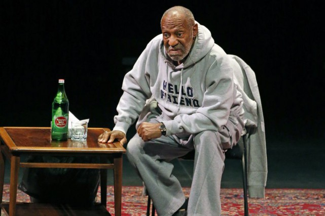 Bill Cosby en spectacle au Buell Theater de... (Photo Brennan Linsley, Archives AP)