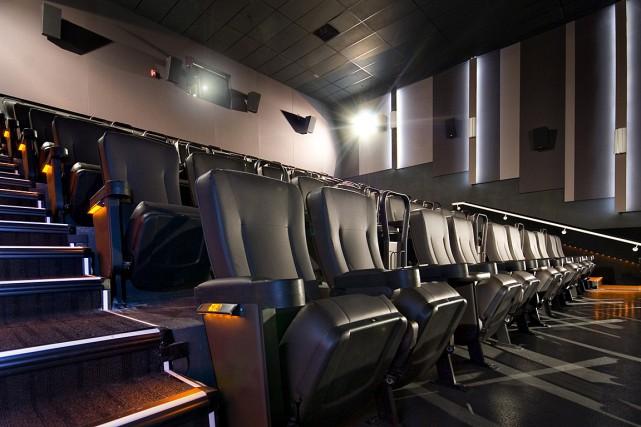 La chaîne de salles de cinéma Cineplex a expliqué mercredi qu'un déclin de son... (IMAGE CINEPLEX)