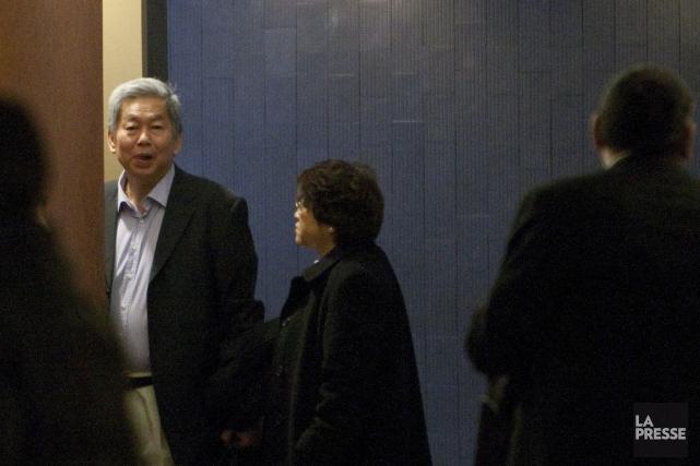 Sy Veng Chun et son épouse,Leng Ky Lech.... (PHOTO MARCO CAMPANOZZI, ARCHIVES LA PRESSE)