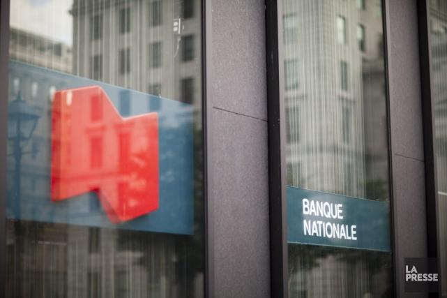 Hier, la Banque Nationale a bonifié de 4%... (PHOTO SARAH MONGEAU-BIRKETT, LA PRESSE)
