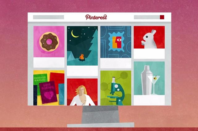 La valorisation du site internet Pinterest atteint désormais 11 milliards de... (IMAGE WWW.PINTEREST.COM)