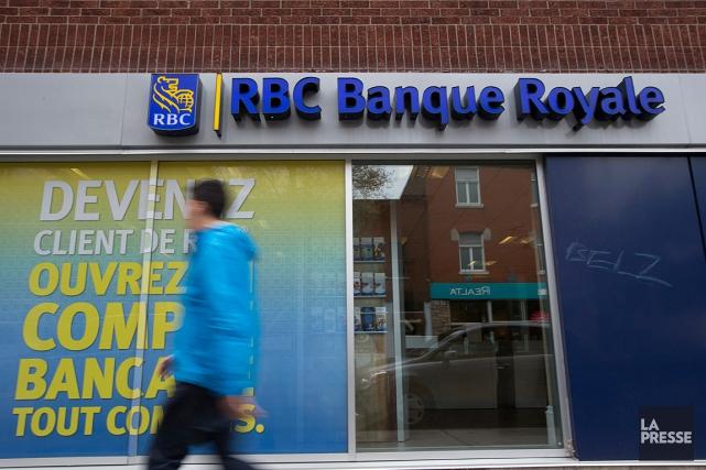 La Banque Royale a vu son action prendre... (PHOTO FRANÇOIS ROY, ARCHIVES LA PRESSE)