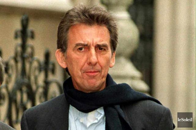 George Harrison en 1998.... (Photothèque Le Soleil, AFP)