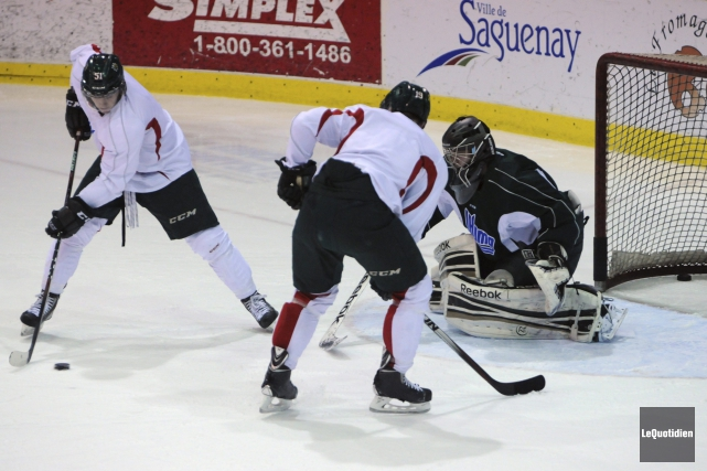 Les Mooseheads n'ont plus que deux joueurs ayant... ((Photo Le Quotidien, Michel Tremblay))