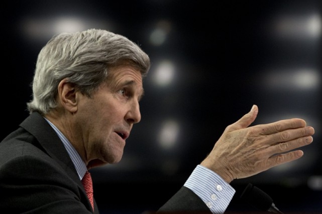 John Kerry... (Photo: AP)