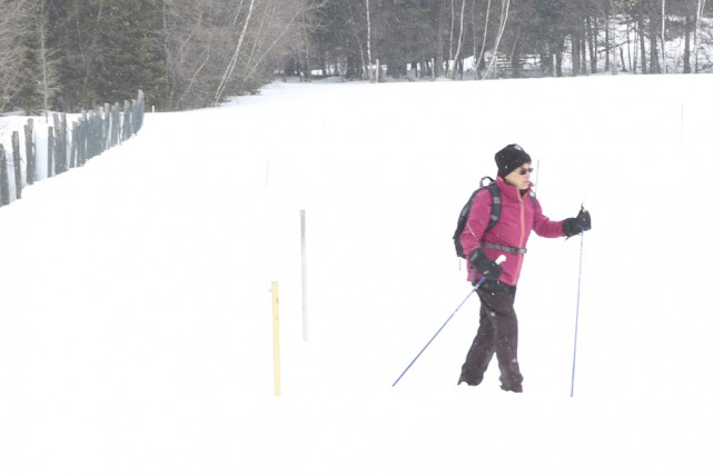 Le centre de ski de fond Les Cèdres... (photo Janick Marois)