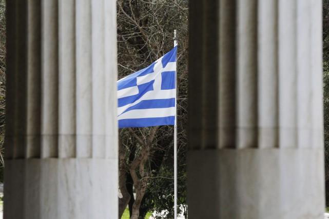 La Grèce croule sous 320 milliards d'euros de... (PHOTO YANNIS BEHRAKIS, REUTERS)