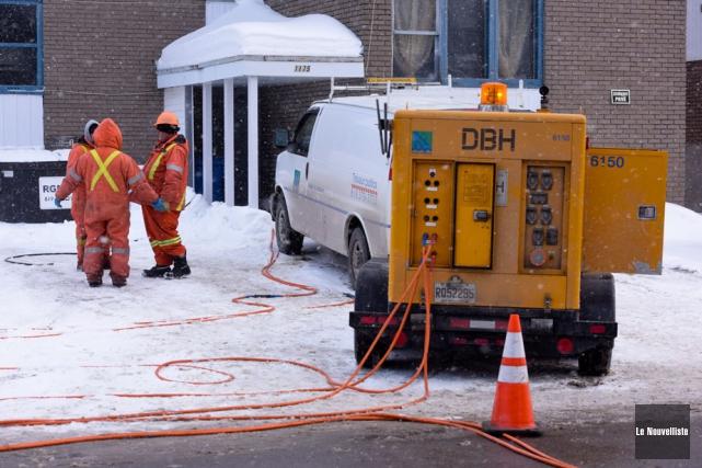 La crise des conduites d'eau gelées est somme... (Photo: François Gervais, Le Nouvelliste)