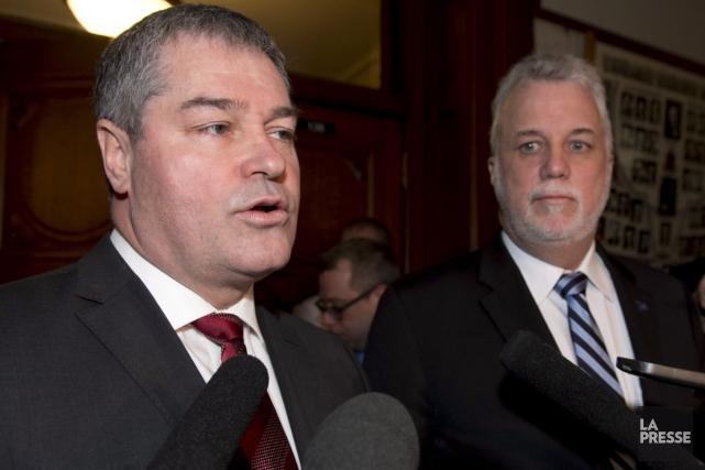 Yves Bolducabandonne son titre de député de la... (La Presse Canadienne, Jacques Boissinot)