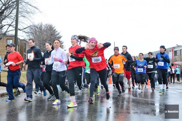 Un total de 1200 coureurs sont attendus pour... (Photo: Émilie O'Connor, Le Nouvelliste)