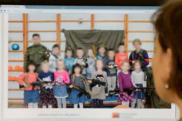 Âgés de cinq à six ans, garçons et... (PHOTO AFP/STRINGER)