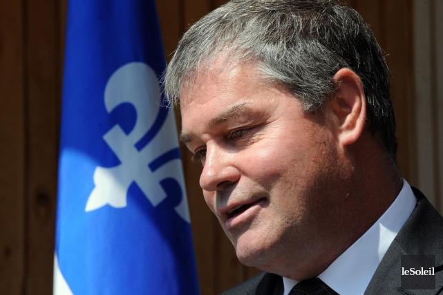 Yves Bolduc était aussi ministre responsable de la... (Photothèque Le Soleil, Erick Labbé)