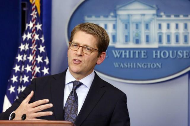 Jay Carney avait quitté la Maison-Blanche en juin... (PHOTO ARCHIVES REUTERS)
