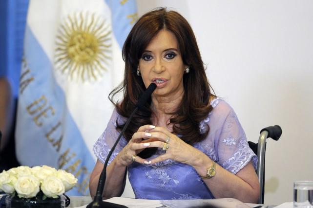 La présidente argentine Cristina Kirchner.... (PHOTO ALEJANDRO PAGNI, ARCHIVES AFP)
