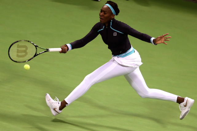 Venus Williams... (Photo Fadi Al-Assaad, Reuters)