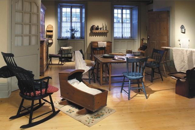 Au temps du régime français, l'habitation ne compte... (Photo fournie par la Maison historique Chevalier)