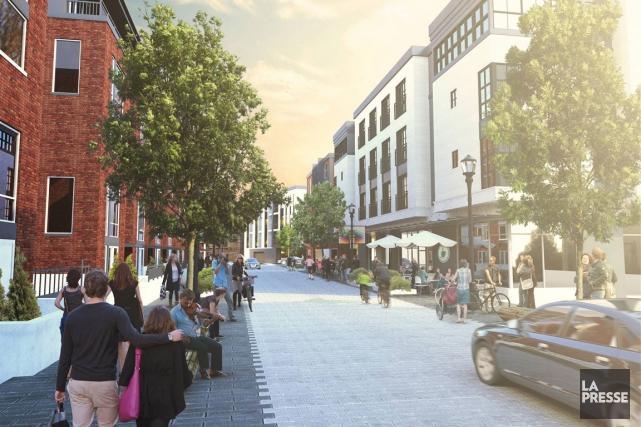 Le maire Maxime Pedneaud-Jobin rappelle que la rue... (Courtoisie)