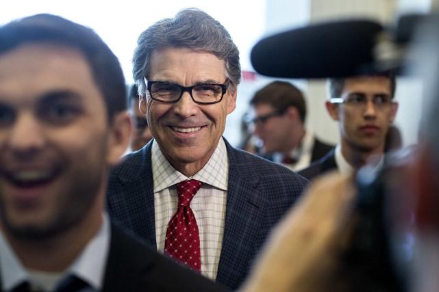 L'ancien gouverneur du TexasRick Perry était présent lors... (PHOTO JOSHUA ROBERTS, REUTERS)