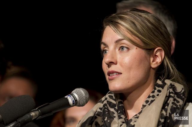Mélanie Joly dit ne pas se reconnaître dans... (Photo Hugo-Sébastien Aubert, archives La Presse)