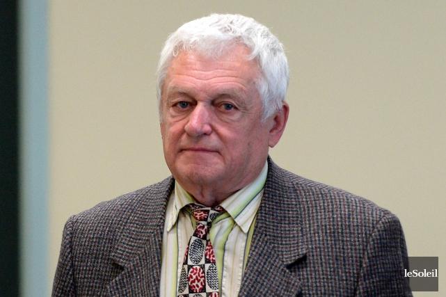 L'ex-maire de Rivière-à-Pierre Jean-Charles Voyer... (Le Soleil, Erick Labbé)