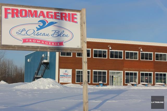 La fromagerie L'Oiseau Bleu d'Asbestos a fermé ses... (La Tribune, Yvan Provencher)