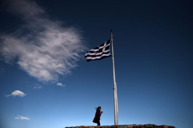 La Grèce ne peut pas se passer du FMI dans son programme de soutien financier a... (PHOTO ARIS MESSINIS, ARCHIVES AFP)
